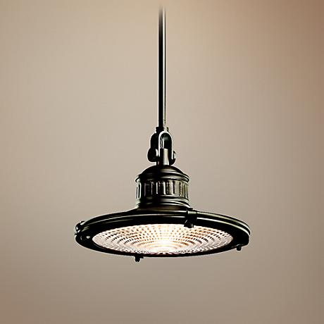 Kichler Sayre Collection Olde Bronze Pendant Light