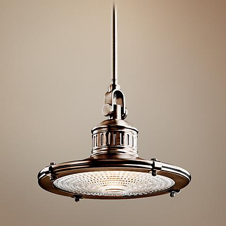 Kichler Sayre Collection Antique Pewter Pendant Light