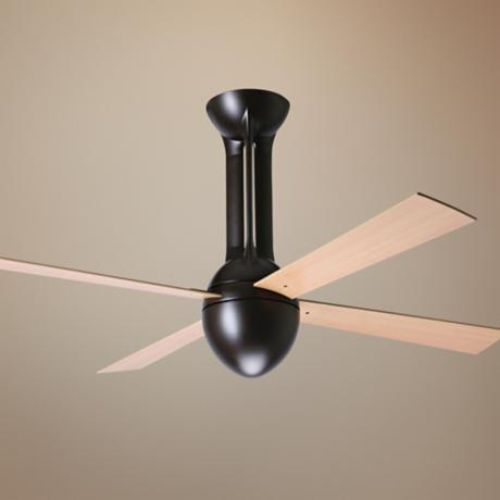 "52"" Period Arts Eclipse Bronze Maple Ceiling Fan"