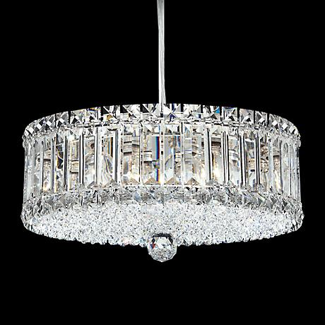 "Schonbek Plaza Collection 14 1/2"" Crystal Pendant Chandelier"