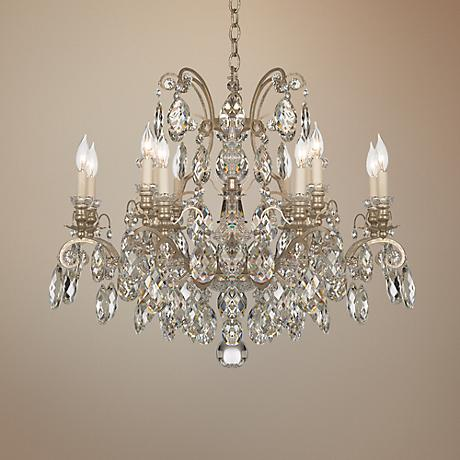 "Schonbek Renaissance Collection 33"" Wide Crystal Chandelier"