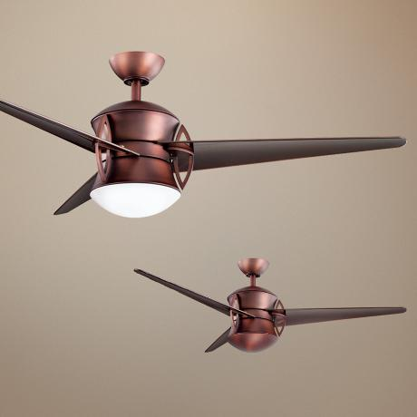 "52"" Kichler Cadence Oil-Brushed Bronze Ceiling Fan"