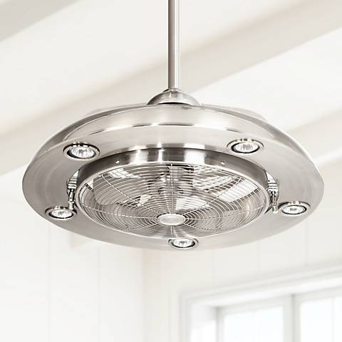 Possini Euro Segue 24 Quot W Brushed Nickel 5 Light Ceiling