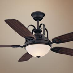 "54"" Savoy House Orion Slate Ceiling Fan"