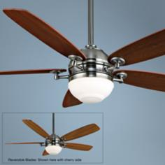 "52"" Fanimation Akira Pewter Ceiling Fan"