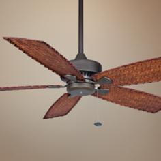 "52"" Fanimation Cancun Oil-Rubbed Bronze Ceiling Fan"