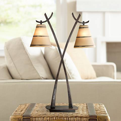 Wright 2-Light Table Lamp