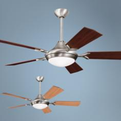 "54"" Kichler Bellamy Antique Pewter Ceiling Fan"