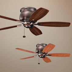 "42"" Kichler Richland II Oil Brushed Bronze Ceiling Fan"