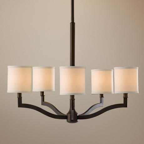 "Murray Feiss Stelle 26"" Wide Pendant Chandelier"