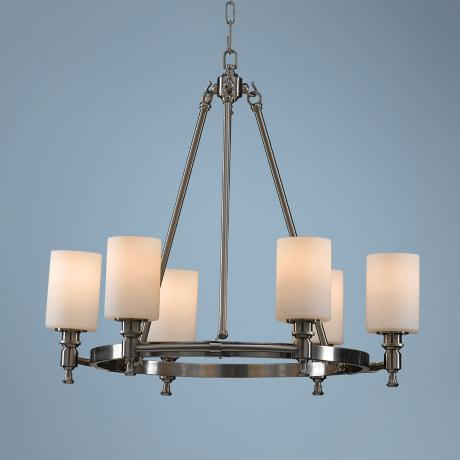 "Murray Feiss Sullivan 25 1/4"" Wide 6-Light Chandelier"
