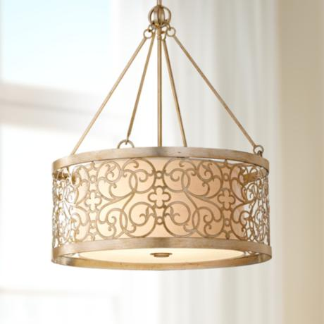 "Murray Feiss Arabesque 23"" Wide Pendant Chandelier"