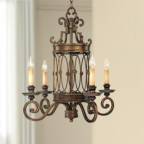 Minka Atterbury Collection 4-Light Chandelier