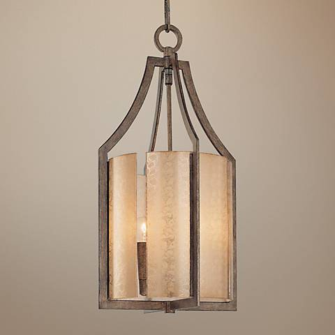 "Minka Clarte Collection 12"" Wide Foyer Pendant Chandelier"