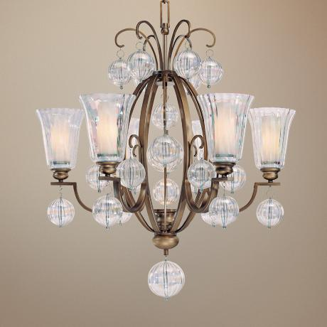Minka Terzetto Collection 6-Light Chandelier
