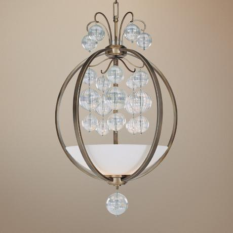 "Minka Terzetto Collection 26"" Wide Pendant Chandelier"