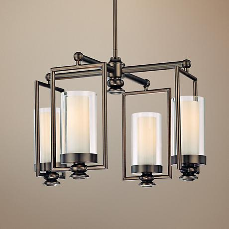 Minka Harvard Court Collection 4-Light Chandelier