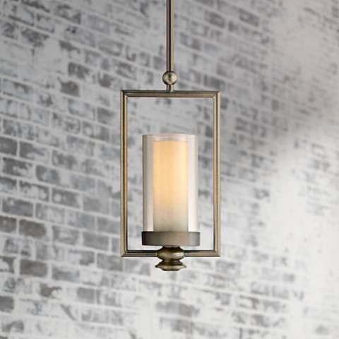 Minka Harvard Court Collection Mini Pendant Light