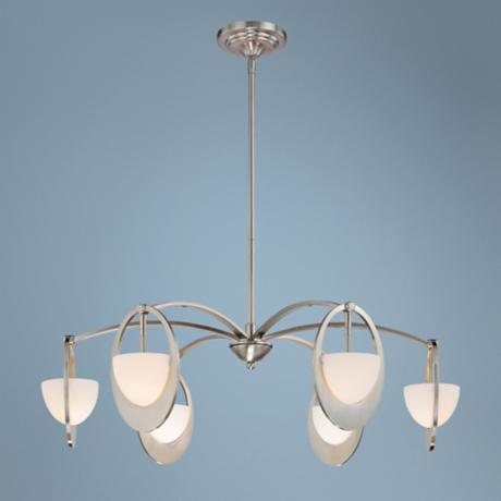 "George Kovacs Earring Collection 30"" Wide Pendant Light"
