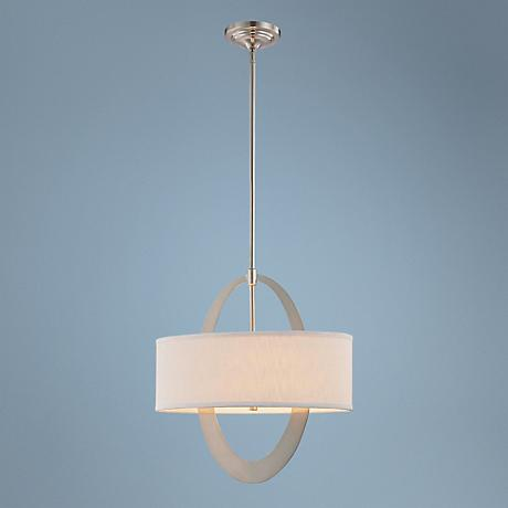 "George Kovacs Earring Collection 19 1/4"" High Pendant Light"