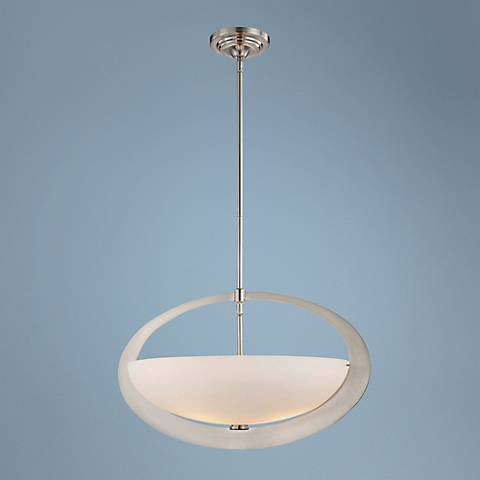 "George Kovacs Earring Collection 22 1/2"" Wide Pendant Light"