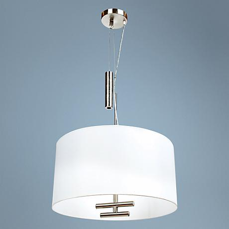 "George Kovacs Counter Weights 24"" Wide Pendant Light"