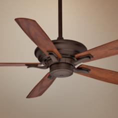 "54"" Casablanca Academy Oil Rubbed Bronze Ceiling Fan"