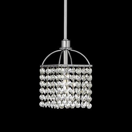James R. Moder Imperial Crystal Mini Pendant Chandelier