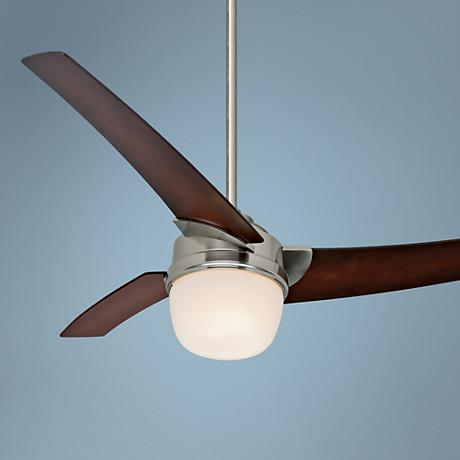 "54"" Hunter Eurus Brushed Nickel Ceiling Fan"
