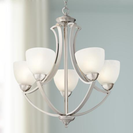 "Possini Euro Design Milbury Five Light 24"" Wide Chandelier"