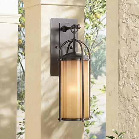 "Feiss Dakota 17"" High Outdoor Wall Light"