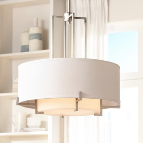 "Possini Euro Concentric Shades 25"" Wide Pendant Light"