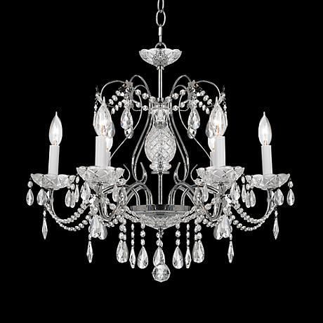 "Impact 24"" Wide Silver Regal Chandelier"