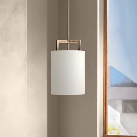 "Hinkley Hampton Collection 7"" Wide Bronze Mini Pendant Light"