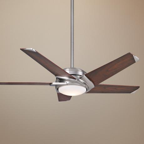 "54"" Casablanca Stealth™ Brushed Nickel Ceiling Fan"