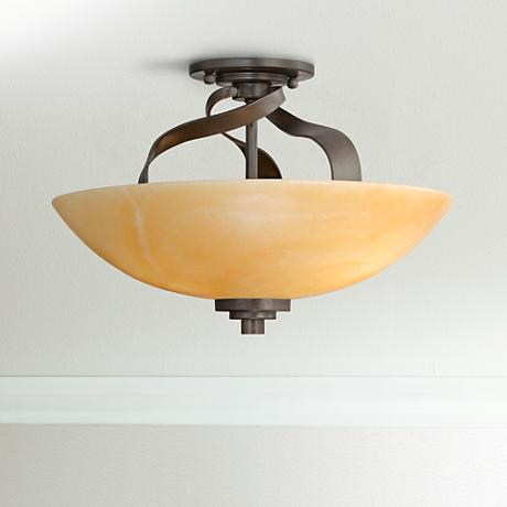 "Quoizel Kyle Collection 16"" Wide Ceiling Light Fixture"