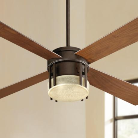 52 Quorum Mission Oiled Bronze Ceiling Fan
