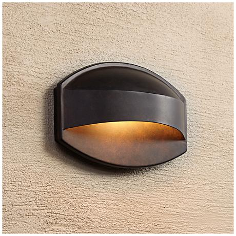 Possini Euro Xane Bronze Dark Sky 11 Quot Wide Wall Sconce