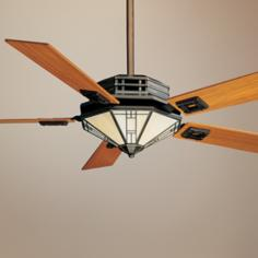 "56"" Casablanca Mission™ Bronze Patina Ceiling Fan"
