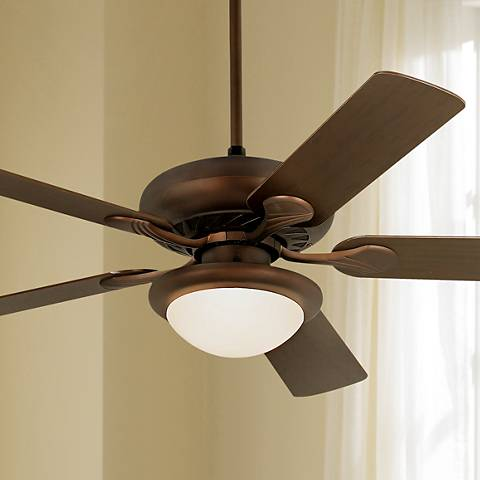"52"" Casa Vieja® Tempra Oil Rubbed Bronze Ceiling Fan"