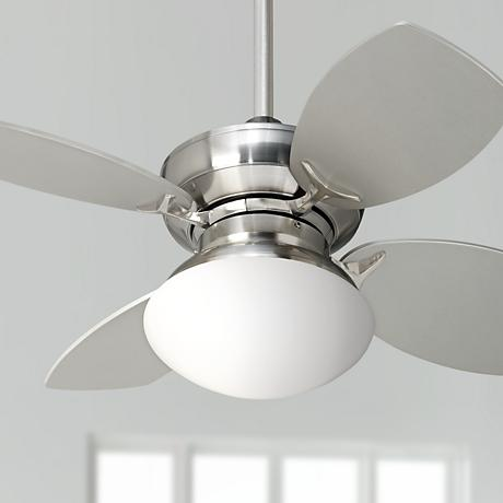 "28"" Hana Bay Brushed Nickel Ceiling Fan"