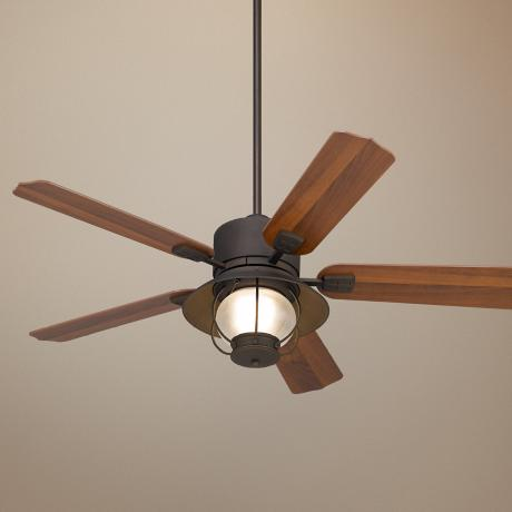 "52"" Portola® ORB Finish  Indoor/ Outdoor Ceiling Fan"