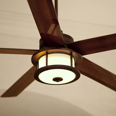 "60"" Casa Largo Oil-Brushed Bronze Ceiling Fan"