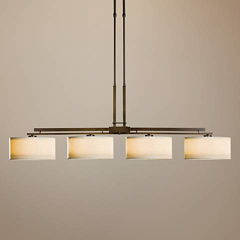 "Hubbardton Forge 50 1/2"" Wide Large Trestle Chandelier"