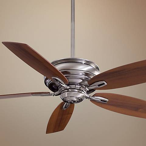 "54"" Minka Aire Timeless Pewter Finish Ceiling Fan"