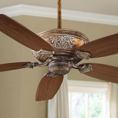 "54"" Minka Aire Classica French Beige Ceiling Fan"