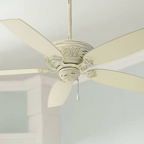 54 minka aire classica provencal blanc ceiling fan Master bedroom ceiling fans with lights