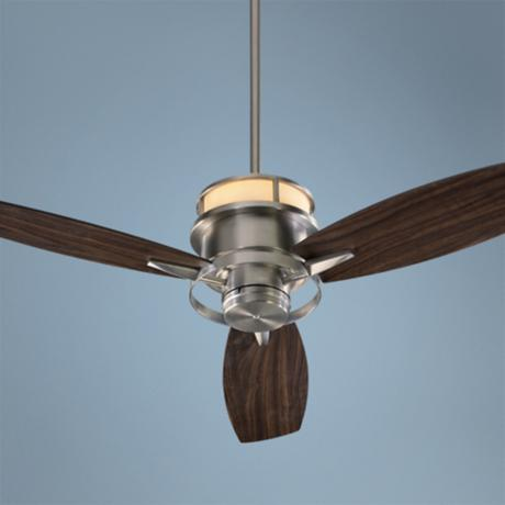 "54"" Quorum Bristol Satin Nickel Ceiling Fan"