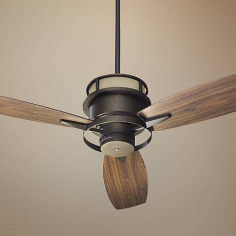 "54"" Quorum Bristol Oil-Rubbed Bronze Ceiling Fan"