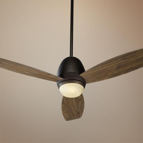 "52"" Quorum Bronx Oil-Rubbed Bronze Ceiling Fan"